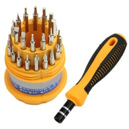 Wholesale High Quality Precision Tools - High quality Stainless steel 3 In 1 Precision Handle Screwdriver Set elecommunication tools MD1289