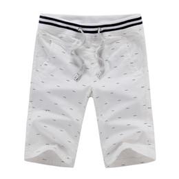 Wholesale Mens Fishing Clothing - Wholesale- New Brand Clothing 2016 Summer Mens Shorts Navy Knee Length Bermuda Shorts Men Fish Bone Strentch Casual Man Fashion Short