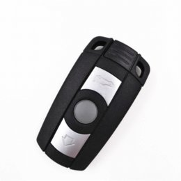 Wholesale Bmw Keyless Entry Remote - 5pcs,3 Buttons Fold Remote Car Key 868MHZ with 46 Electronic chip For BMW X3 X5(E70),X6(E71),CAS1 2 3 3+ Anti-theft System