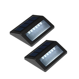 Wholesale Ce Security - Waterproof 6 LED Solar Powered Wireless PIR Motion Sensor Light Outdoor Garden Wall Lamp Solar Stair Fence Light Security Solar Lawn Lamp