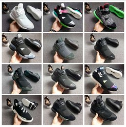 online store a07a8 ae8be y sneakers Rabatt Großhandel 12 Farben Y-3 QASA RACER Hight Freizeitschuhe  Turnschuhe Breathable Männer
