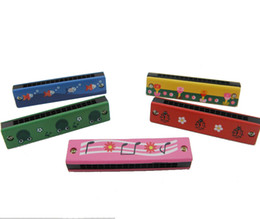 Wholesale Harmonica 16 - Manufacturers selling wooden wooden harmonica harmonica children toys with 16 children