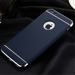 Wholesale Iphone Original Logo - Fashion High Quality For iphone 7 Luxury Original Back cover for Apple iphone 7 Plus Cases PC Hard Armor shell Logo hole
