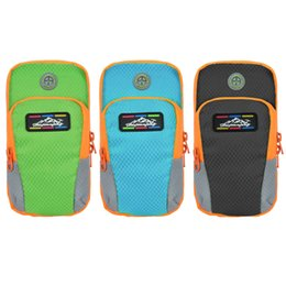 Wholesale Iphone Accessories Running - Wholesale- Sport Arm Band Case For 6.5 inch Phone iPhone Samsung Huawei Outdoor Waterproof Running Gym Phone Cover Coque Accessory