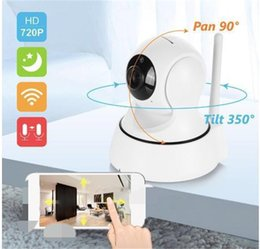 Wholesale Security Dvr Monitor - SANNCE Wifi IP Camera New Wireless Clock Alarm 720P HD Mini In Outdoor Home Security Surveillance CCTV IR Night Vision DVR Baby Monitor