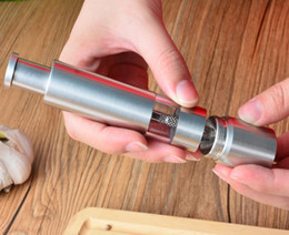 Wholesale Portable Milling - 20pcs lot Fast Shipping Portable Stainless Steel Thumb Push Salt Pepper Grinder Spice Sauce Mill Grind Kitchen tool