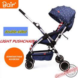 Wholesale Two Way Stroller - Wholesale- Bair baby stroller two-way ultra-light portable folding umbrella car summer car Carriage Baby Pram Travel Portable Lightweight