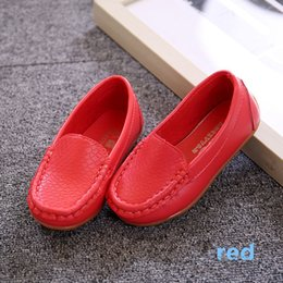 Wholesale Boys Shoe Loafer - Hot Sale New Fashion Children Lazy Shoes Boys Gommini Loafers Girls Shoes Moccasins Kids Shoes Many Colors