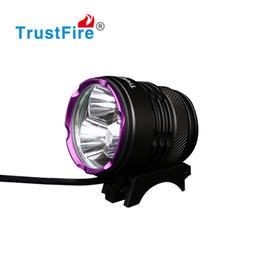 LED Fahrrad Lampe Fahrrad Scheinwerfer Radfahren Motorrad Kopf Licht 1100 Lm CREE XM-L Fahrrad Zubehör 18650 Batterie Pack Gummiring Ladegerät von Fabrikanten