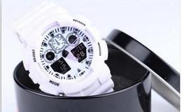 Wholesale Led Watch New Models - 2017 new Newest Latest model watch ga100 ga 100 watch, classic wristwatch relogio reloj de pulsera, LED WATCH with box