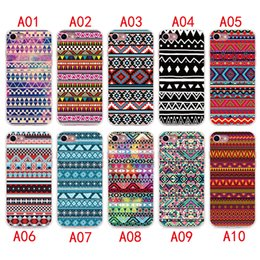 Wholesale Aztec Phone Case For Iphone - 2017 Aztec Tribal Tribe Case For iPhone 7 6 6S plus Silicone Cover Case Luxury Ultra Thin Soft TPU For iPhone 5 4 se Mobile Phone bag