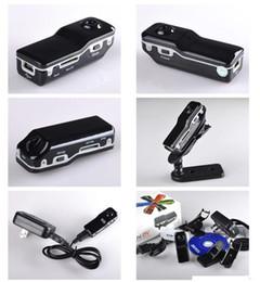 2019 mini grabadora de video recargable Mini DV DVR Cámara de grabación de vídeo deportivo MD80 Videocámara de alta resolución Más pequeña grabadora de voz DHL Fedex gratuito