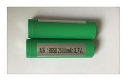 Wholesale Battery C4 - HOT VT C3 VT C4 VT C5  INR18650 lithium batteries 25R for 2500mAh 20A A Grade High Power Li-ion Rechargeable Battery Cell