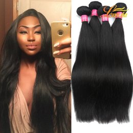 Wholesale Queens Peruvian Hair - Charming Queen Peruvian Straight Hair Mix Lenght 100%Unprocesse Virgin Human Hair Extension Virgin Peruvian Straight Hair Wave Bundles Deals