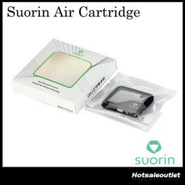 Wholesale Ecigarette Free Dhl - Authentic Suorin Air Cartridge 2ml for Suorin Air Kit 1st Vaping Gear Portable Size eCigarette Accessories 100% Original DHL Free