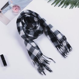 Wholesale Korean Style Scarves - 2017 South Korean style scarf men and women in winter sell scarves wholesale plaid cotton scarves