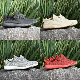 Wholesale Boot For Men Winter Shoes - With Box 2017 Boost 350 Running Shoes Kanye West For Men Cheap Sneaker Discount Basketball Shoes Discount Sneakers Boots Size 36-46