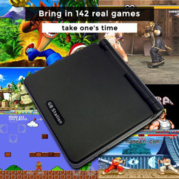 Wholesale Android Game Player Tv - 8 Bit GB Station SP PVP PXP3 Kid Handheld Video Game Console With 142 Games 2.7'' LCD Retro Player