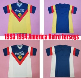 ba42397d951 93 94 America redtro jersey Commemorative Edition home jersey men's top  thai quality classical away white football shirts vintage sportswear
