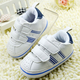 Wholesale White Canvas Shoes For Toddlers - Wholesale- New White Children Shoes Baby Boys Toddler Shoes First Walkers Kids Shoes For Boys