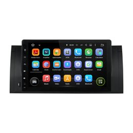 "Wholesale E53 Gps - Deckless CAPACTIVE 1024X600 screen 9"" Android 5.1.1 Fit BMW E39 X5 M5 E38 E53 1995-2003 Car DVD Navigation GPS Radio wifi DVR player"