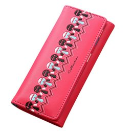 Wholesale Pattern For Coin Purse - Wholesale- Xiniu bags for women Purse female Printing Pattern Hasp Coin Purse Woman Long Wallet Card Holders billeteras para mujer #PYXTJ