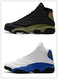 Wholesale Game Trainers - 2017 Cheap New retro 13 XIII mens Basketball Shoes sneakers red Bred He Got Game Black Sneaker Sports trainers Shoes Online Sale Size 8-13