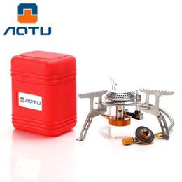 AT6303 Portable Split Type Gas Stove Horno de Picnic Acampar al aire libre Cocinar desde fabricantes