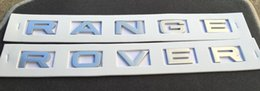 Wholesale 3m Hood - NEW RANGE ROVER SILVER 3M LETTERS HOOD OR TRUNK TAILGATE EMBLEM BADGE NAMEPLATE