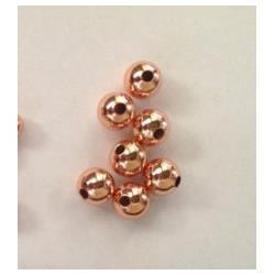 Wholesale Aa Connector - AA grade--100pcs 3-10mm 24K Plated seamless round beads,Round Ball Solid Brass Bead, Rose Gold,Silver Gunmetal Spacer beads