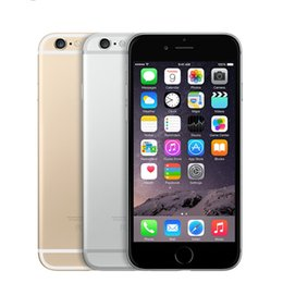Wholesale Iphone 3g 16 - Unlocked iPhone 6 1GB RAM 4.7inch IOS Dual Core 1.4GHz phone 8.0 MP Camera 3G WCDMA 4G LTE Used 16 64 128GB ROM