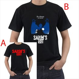 Wholesale Horror Shirts - Salems Lot Horror Red T Shirt Cotton S M L XL XXL Size S-2xl Novelty O-Neck Tops