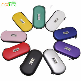 Wholesale Ego T Cigarette Carry Case - 2016 Rushed Promotion Sale Ego Zipper Carrying Case for Electronic Cigarette Kit Small Size Middle Big Ego-t Bag Various Colors Dhl free