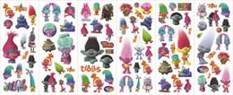 Wholesale Kid School Desks - Trolls Poppy Sticker 3D Cartoon Pattern Children School Reward Wall Desk Stickers Scrapbook Children Toys Stickers kids Gift