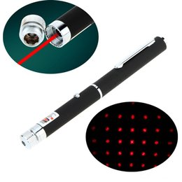 Wholesale Caps For Red Laser - Pen Shaped Adjustable Starry Sky Star Cap 5mW 650nm Red Laser Beam Pointer Pen for Sale Teaching Training F16122967