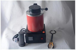 Wholesale 2kg Digital - Automatic Electric Melting Furnace Silver & Gold Pour Bar +2Kg Crucible+ tong - Digital Controler 110V &220V
