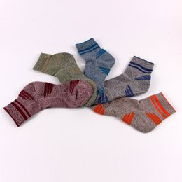 Wholesale Fashion Foot Wear - High Quality Man Sock Fashion Thick COOL MAX Mens Socks Thermal Towel Bottom Foot Wear Bicycle outdoor sports socks