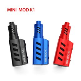 Wholesale Mini Power Style - New arrivals authentic Mlife MINI MOD K1 military style with OLED Screen max power 50W same quality as SMOK Kanger Eleaf 1200mah
