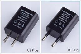 Canada US EU Plug USB Chargeurs Muraux 5V1A Adaptateur Voyage Pratique Adaptateur secteur pour Samsung Sony HTC Huawei Xiaomi LG Livraison Gratuite Offre