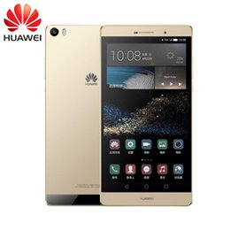 Wholesale Micro Usb 32gb - Unlocked Original Huawei P8 Max 4G LTE Mobile Phone Kirin 935 Octa Core 3GB RAM 32GB 64GB ROM Android 5.1 6.8inch IPS 13.0MP OTG Cell Phone