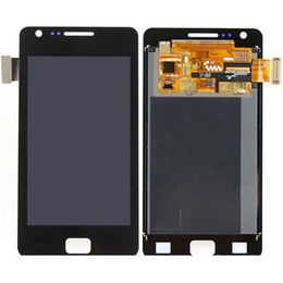 Wholesale S2 Touch Lcd - Wholesale 100% Brand New Cell phone touch panel LCD repair high quality S2 lcds For Samsung Galaxy S2 I9100 LCD