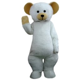 Wholesale White Bear Mascot Costume - White bear Mascot cartoon, factory physical photos, quality guaranteed, welcome buyers to the evaluation and cargo photos05