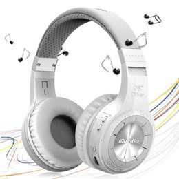 Wholesale Auriculares Pc Bluetooth - Hifi Casque Audio Auriculares Bluedio HT Bluetooth Headset Big Earphone Head Phone Computer PC Cordless Wireless Headphone With Microphone