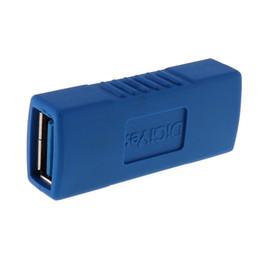 Argentina DiGiYes Superspeed USB 3.0 Tipo-A Hembra a Hembra Adaptador Puente Extensión Acoplador Género Conector CAS_346 Suministro