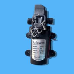 Car Wash Pump DC 12V 60W Pompa acqua 5L / min 60W Micro Car Diaframma Alta pressione automatica Switch + Drop Shipping da dc pompa a membrana fornitori