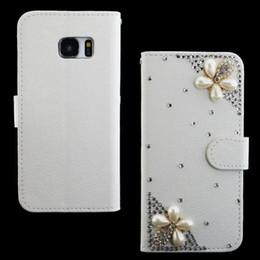 Wholesale Diamond Xperia - For Sony xperia z5 mini z3 mini z2 E1 Luxury Flip 3D Rhinestone Diamond Stand leather wallet case bling DIY accessories phone case