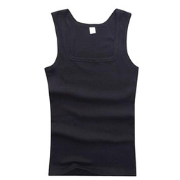 Wholesale Sexy Hot Boy S - Wholesale- Quick Dry Sleeveless Shirts Men Fitness Vest Hot Workout Casual Tank Tops For Man Boys B2