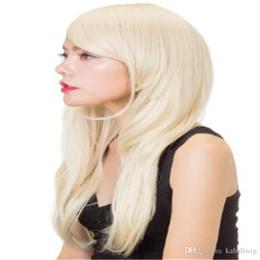 Pelucas llenas de encargo del pelo humano del cordón online-Custom Total Hair Blonde Weaving Virgin Brasileño 100% Peluca Llena Del Cordón Seda Superior 5.5 * 5.5 Peluca Y El Cabello Del Bebé Es Peluca De Cabello Humano