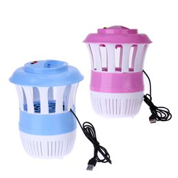 Wholesale Insect Kill - USB Photocatalyst Mosquito Killing Lamp Electronic Anti-Mosquito Insect Killer LED Lamp Mousquito Repeller