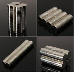 Wholesale Magnet 2mm - 100pcs lot Hot sale Super Strong Round Disc Cylinder 12 x 1.5mm 12*2mm Magnets Rare Earth Neodymium N35 Round Shape N S 80 degrees Celsius N